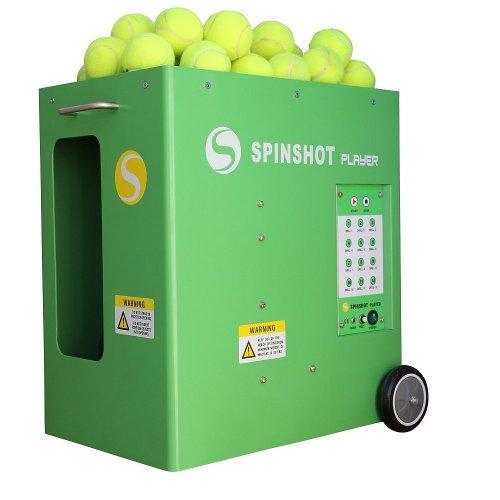 machine tennis drills
